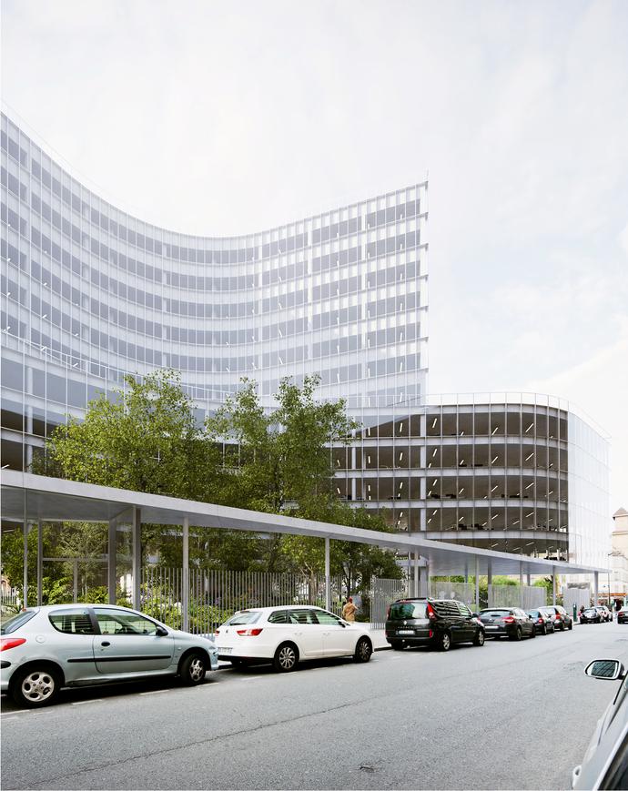 Retail Housing Building